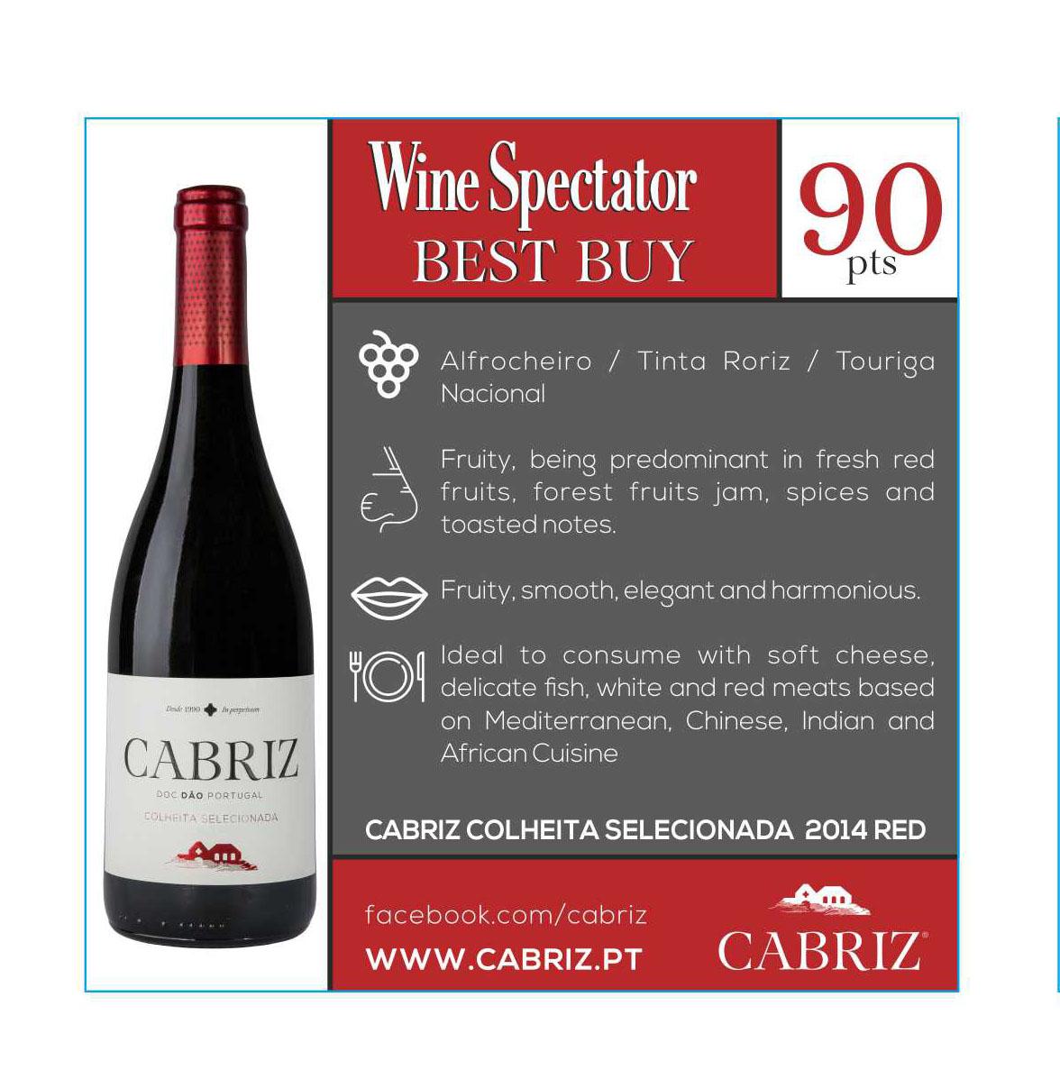 Cabriz Colheita Seleccionada Red 2014 Aidil Wines Amp Liquors